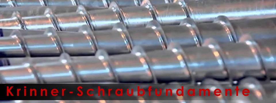 Krinner-Schraubfundamente